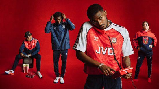 Reissue: Arsenal 199 - 1992 adidas Originals Home Football Kit, Soccer Jersey, Shirt, Maillot, Camiseta, Camisa, Trikot