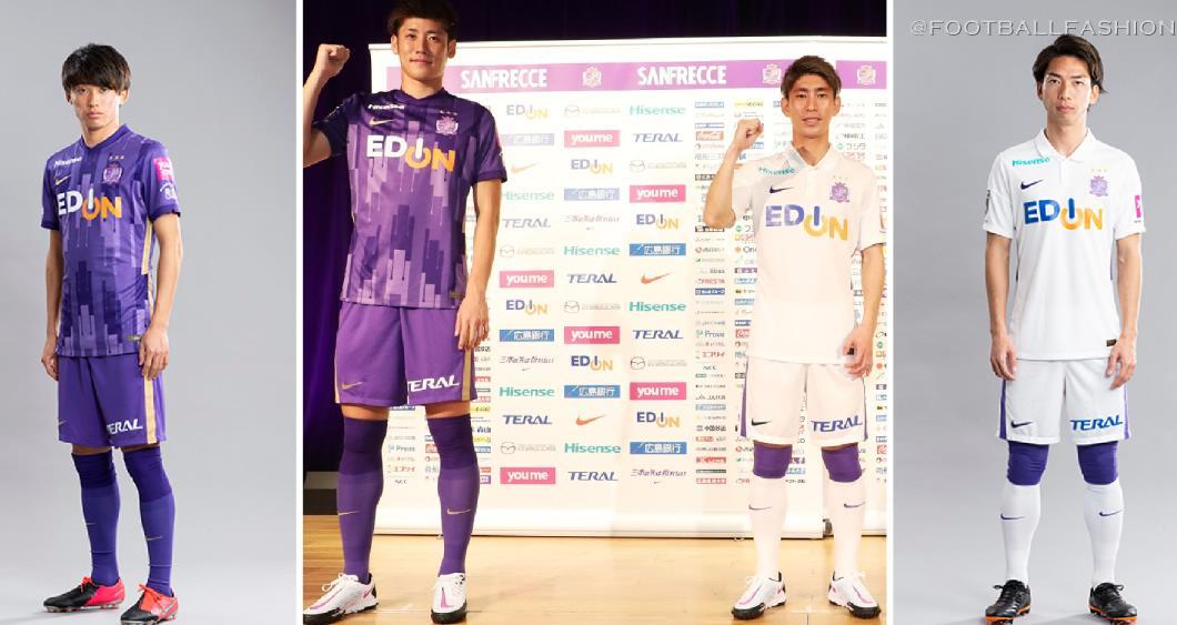 Sanfrecce Hiroshima 2021 Nike Home and Away Football Kit, Soccer Jersey, Shirt
