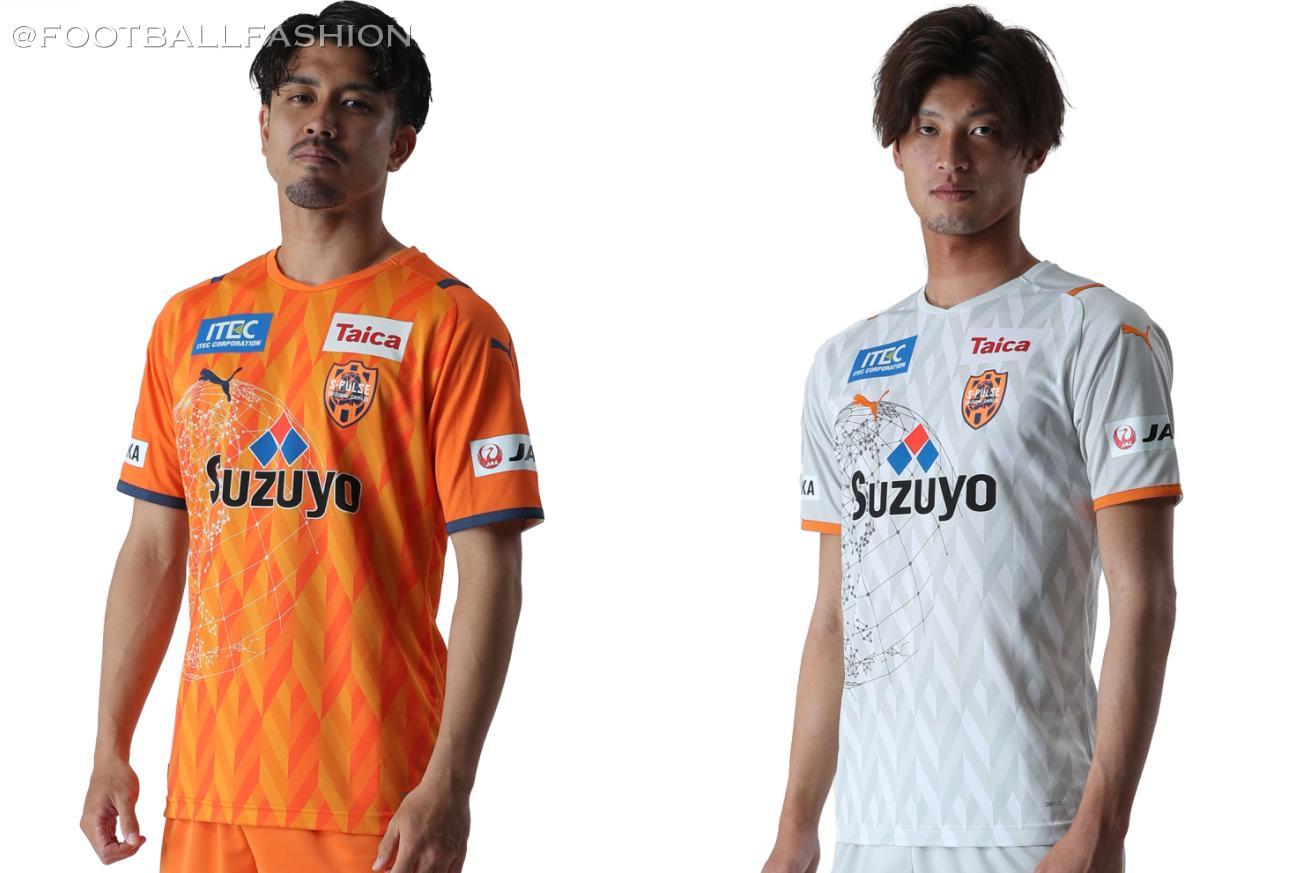 Shimizu S-Pulse 2021 PUMA Home and Away Kits - FOOTBALL FASHION