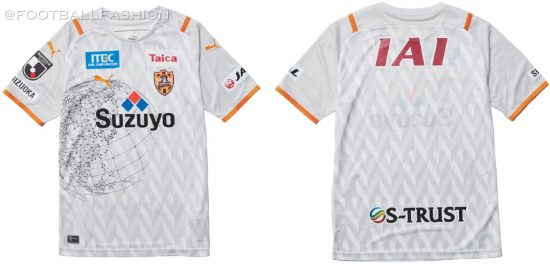 Shimizu S-Pulse 2021 PUMA Home and Away Football Kit, Soccer Jersey, Shirt