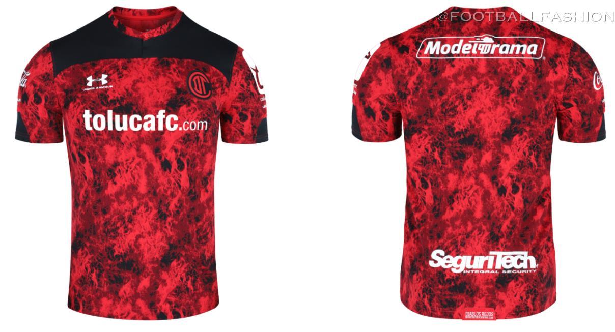 Toluca FC 2021 Under Armour Football Kit, Soccer Jersey, Shirt, Camiseta de Futbol