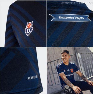 Club Universidad de Chile 2021 adidas Home Football Kit, Soccer Jersey, Shirt, Camiseta de Futbol