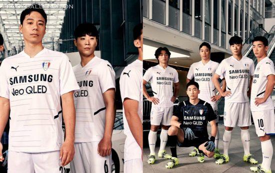 Suwon Samsung Bluewings 2021 PUMA Football Kit, Soccer Jersey Shirt