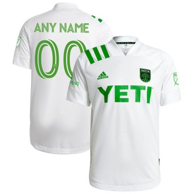 Austin FC 2021 adidas Away Soccer Jersey, 2020-21 MLS Football Kit, 2020/21 Shirt, Camiseta de Futbol