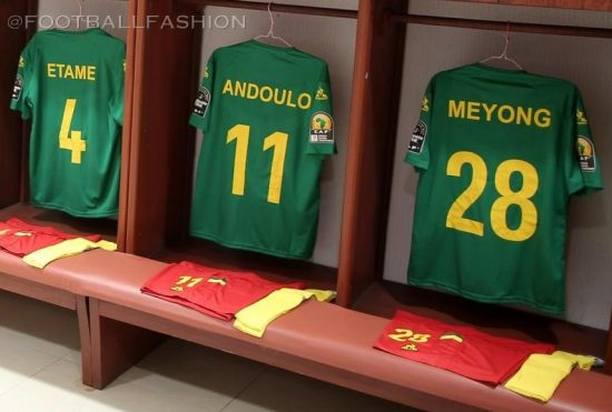 Cameroon 2021 le coq sportif Home and Away Football Kit, Soccer Jersey, Shirt, Maillot Cameroun
