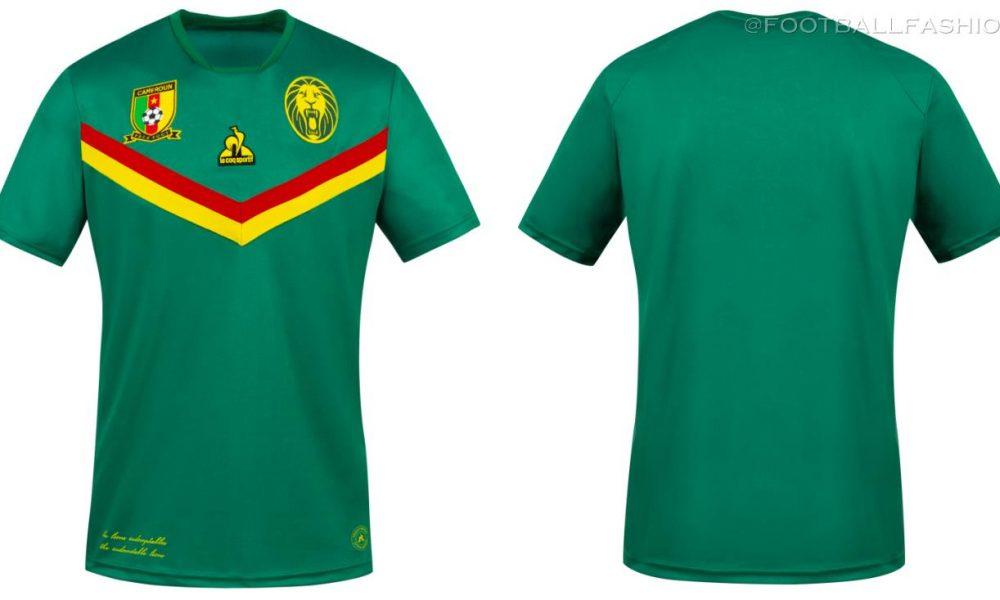 Cameroon 2021 le coq sportif Home and Away Kits - FOOTBALL FASHION