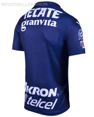 Chivas de Guadalajara 2019 2020 White PUMA Third Soccer Jersey, Shirt, Football Kit, Camiseta de Futbol, Equipacion