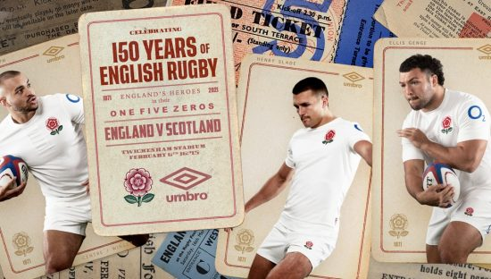 England Rugby 150th Anniversary Umbro Kit, Jersey, Shirt