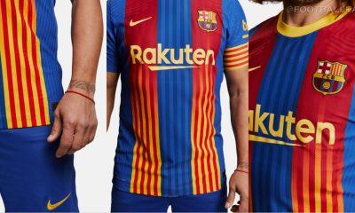 FC Barcelona 2021 'El Clásico' Nike Football Kit, Soccer Jersey, Shirt, Camiseta de Futbol, Maillot, Trikot