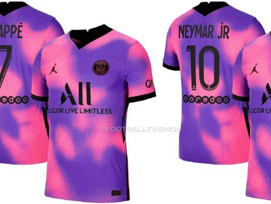 Paris Saint-Germain 2021 Jordan Fourth Football Kit, Soccer Jersey, Shirt, Maillot, Camisea, Camiseta