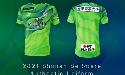 Shonan Bellmare 2021 Penalty Football Kit, Soccer Jersey, Shirt