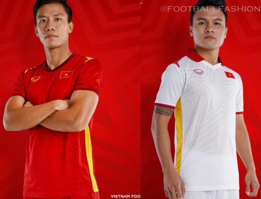 Vietnam 2021 Grand Sport Football Kit, Soccer Jersey, Shirt