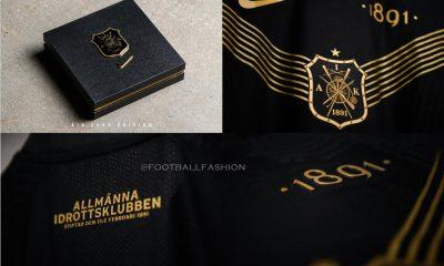AIK Fotboll 130th Anniversary Nike Kit, Soccer Jersey, Football Shirt, 130 år tröja