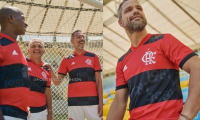 CR Flamengo 2021 2022 adidas Home Soccer Jersey, Football Kit, Shirt, Camisa