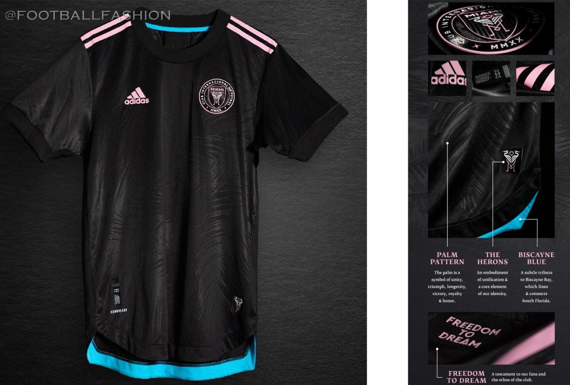 Inter Miami 2021 adidas Away Jersey - FOOTBALL FASHION