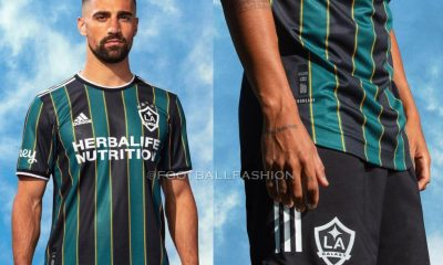 LA Galaxy 2021 adidas Away Soccer Jersey, Camiseta de Futbol MLS, Football Kit, Shirt