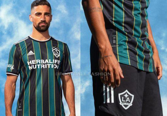 LA Galaxy 2021 adidas Away Soccer Jersey, Camiseta de Futbol MLS, Football Kit, Shirt