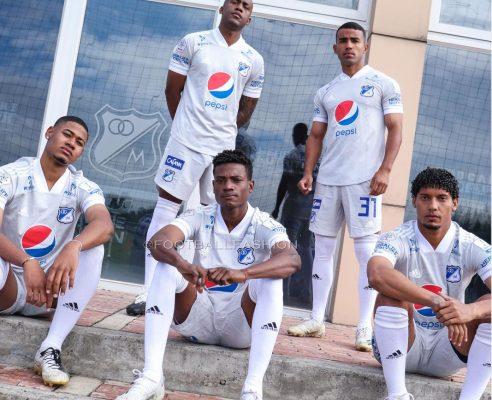 Millonarios FC 2021 adidas Away Football Kit, Soccer Jersey, Shirt, Camiseta de Futbol