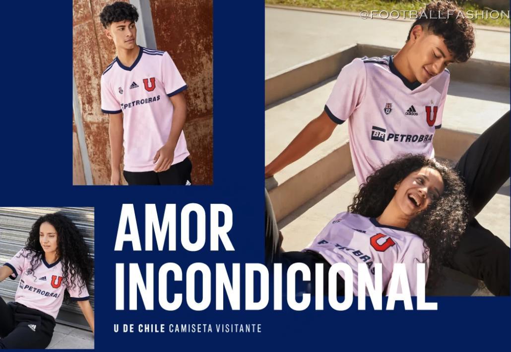 Club Universidad de Chile 2021 adidas Away Kit - FOOTBALL FASHION