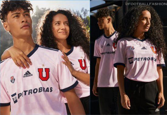 Club Universidad de Chile 2021 adidas Away Football Kit, Soccer Jersey, Shirt, Camiseta de Futbol