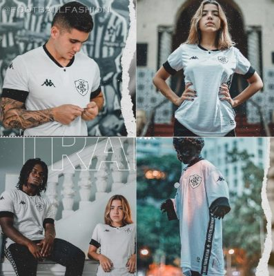 Botafogo 2021 Kappa Third Football Kit, Soccer Jersey, Shirt, Camisa III