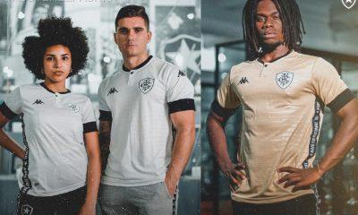 Botafogo 2021 Kappa Third Football Kit, Soccer Jersey, Shirt, Camisa III