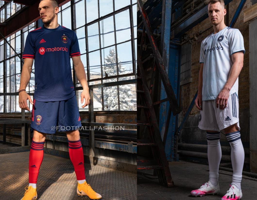 Chicago Fire 2021 adidas Home and Away Kits - FOOTBALL FASHION