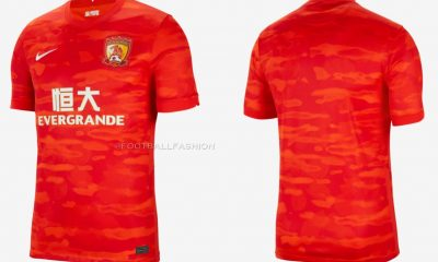 Guangzhou FC 2021 Nike Home Soccer Jersey, Football Kit, Shirt