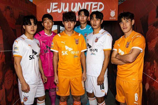 Jeju United 2021 PUMA Home and Away Kits