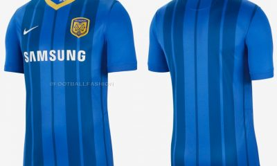 Jiangsu Football Club 2021 Nike Home Soccer Jersey, Shirt, Kit