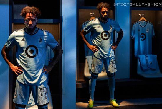 Minnesota United 2021 2022 adidas Home Soccer Jersey, Football Shirt, Kit, Camiseta de Futbol MLS