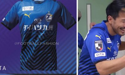 Oita Trinita 2021 PUMA Home Football Kit, Soccer Jersey, Shirt