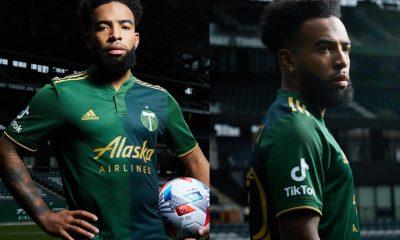Portland Timbers 2021 adidas Home Soccer Jersey, Football Kit, Shirt, Camiseta de Futbol