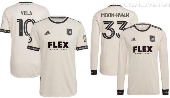 LAFC 2021/22 adidas Away Jersey, 2021 Soccer Shirt, 2022 Football Kit, Camiseta de Futbol 2021-22