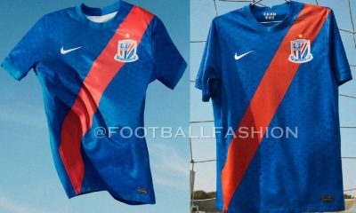 Shanghai Shenhua 2021 Nike Home Football Kit, Soccer Jersey, Shirt