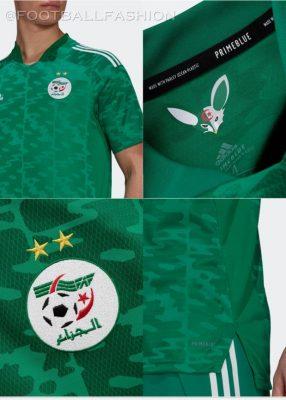 Algeria 2021 2022 adidas Home Soccer Jersey, 2021/22 Football Kit, 2021-22 Shirt, Maillot