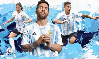 Argentina 2021 Copa America 2022 adidas Home Football Kit, Soccer Jersey, Shirt, Camiseta de Futbol