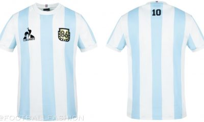Argentina le coq sportif 1986 Maradona Legends Soccer Jersey, Football Kit, Shirt, Camiseta de Futbol Retro