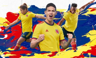 Colombia 2021 2022 Copa América adidas Yellow Home Soccer Jersey, Football Kit, Shirt, Camiseta de Futbol