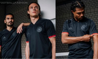 Germany 2021 2022 EURO 2020 adidas Black Away Football Kit, Shirt, Soccer Jersey, Trikot, Fussball-Weltmeisterschaft, Auswärtstrikot
