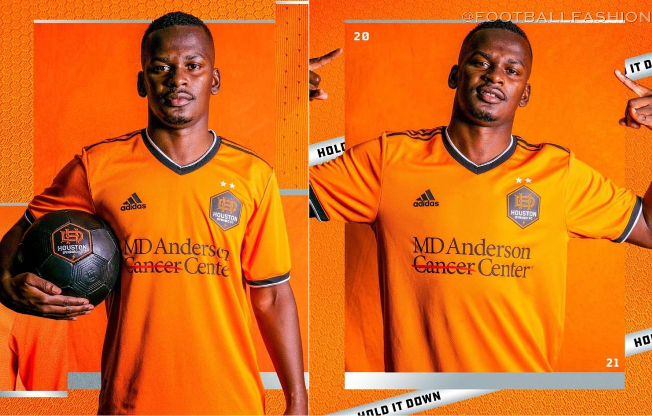 Houston Dynamo 2021 adidas Home Soccer Jersey, Football Kit, Shirt, Camiseta de MLS