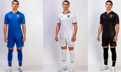 Kosovo 2021 2022 Home, Away and Third Football Kit, Soccer Jersey, Shirt