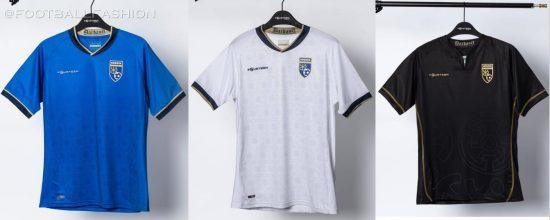 Kosovo 2021 2022 Home, Away and Third Football Kit, Soccer Jersey, Shirt