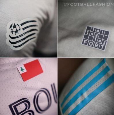 New England Revolution 2021 adidas Away Football Kit, Soccer Jersey, Shirt, Camiseta de Futbol MLS