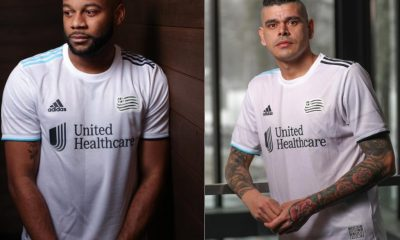 New England Revolution 2021 adidas Away Football Kit, Soccer Jersey, Shirt, Camiseta de Futbol MLS