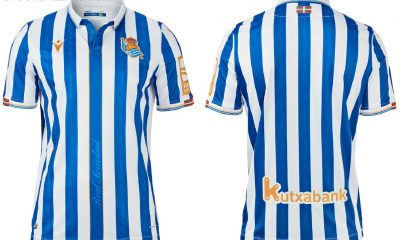 Real Sociedad 2021 Copa del Rey Final Macron Football Kit, Soccer Jersey, Shirt, Camiseta final edición limitada