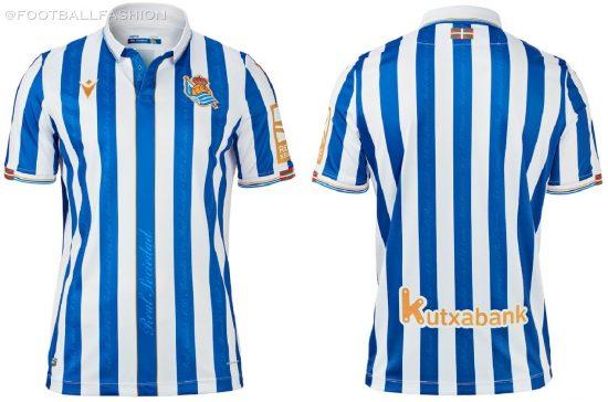 Real Sociedad 2021 Copa del Rey Final Macron Football Kit, Soccer Jersey, Shirt, Camiseta final edición limitada
