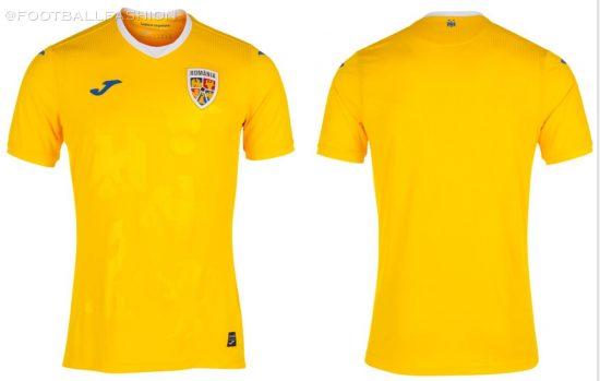 Romania 2021 2022 Joma Home and Away Football Kit, Soccer Jersey, Shirt, Echipament, Tricou