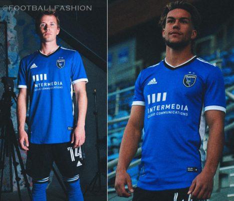 San Jose Earthquakes 2021 adidas Home Soccer Jersey, Football Shirt, Kit, Camiseta de Futbol MLS