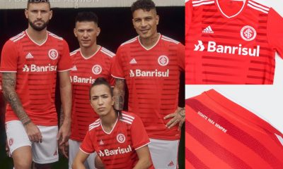 SC Internacional 2021/22 adidas Home Football Kit, 2021 Shirt, 2022 Soccer Jersey, Camisa 2021-22